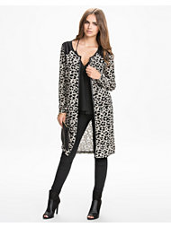 Only Leopard Long Cardigan