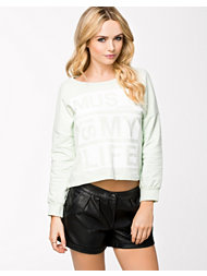 Only Mindy Cropped Top Sweat