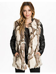 Only Lucy Fur Waistcoat