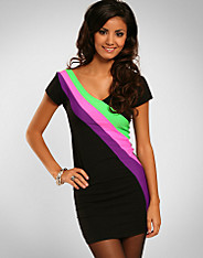 Quontum - 3 Colour Flash Dress