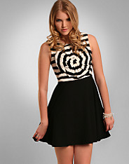 Colette Powell - Stripe Rosette Dress