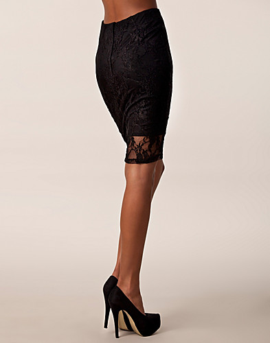 KJOLAR - ONENESS / PENCIL LACE SKIRT - NELLY.COM