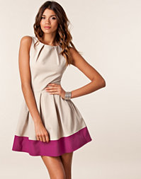 Closet - Block Color Base Dress