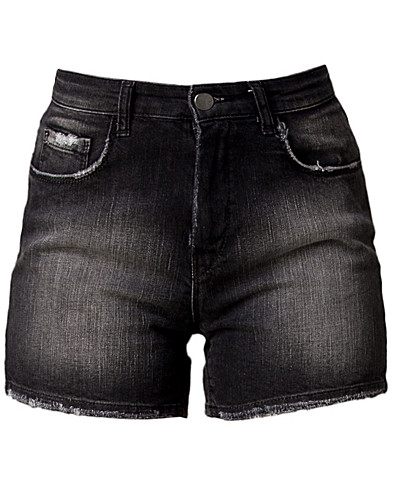 BROEKEN & SHORTS - SORT DENIM / COURTNEY SHORTS - NELLY.COM