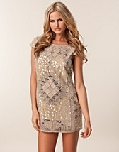 SEQUIN LUXOR DRESS