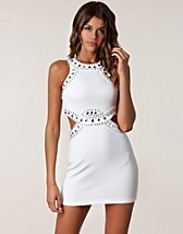 CUT OUT EMBELLISH DRESS