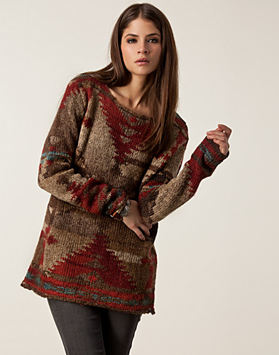 JUMPERS & CARDIGANS - DENIM & SUPPLY RALPH LAUREN / MULTI SWEATER - NELLY.COM