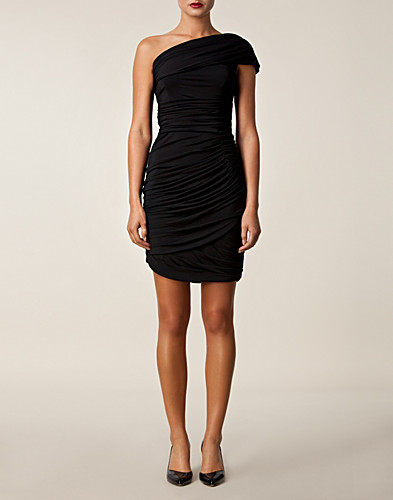 PARTY DRESSES - VERA WANG LAVENDER / ONE SHOULDER JERSEY DRESS - NELLY.COM