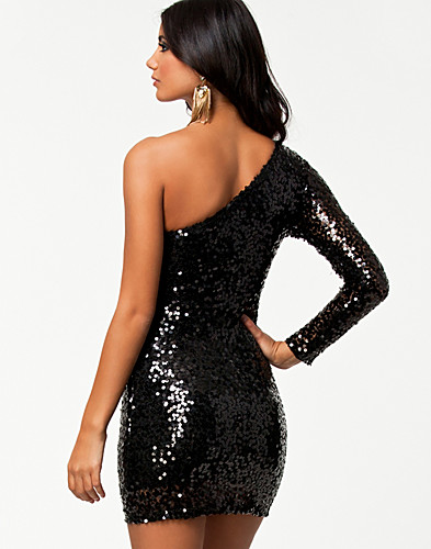 PARTY DRESSES - ONENESS / ONE SLEEVE SEQUIN DRESS - NELLY.COM