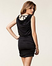 RUCHED BUCKLE BACK DRESS