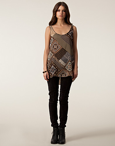 TOPPAR - BILLY AND I / I VEST LONG TOP - NELLY.COM