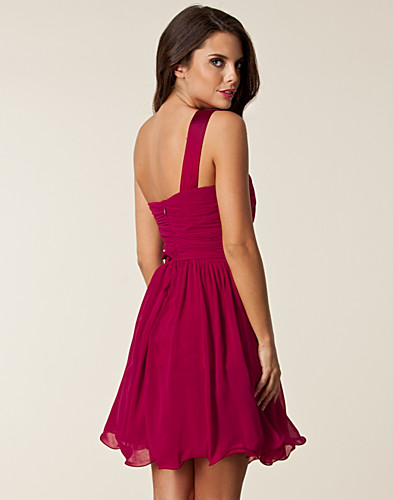 PARTY DRESSES - LITTLE MISTRESS / CUT OUT TRIM RUFFLE DRESS - NELLY.COM