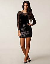 ANNIE SEQUIN MINI SKIRT