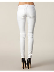D Brand Slim Fit Jeans White