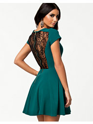 Closet Lace Panel Dress