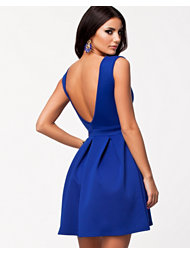 Oneness V-Neck Pleat Dress