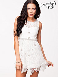 Oneness Lace Shift Decor Dress