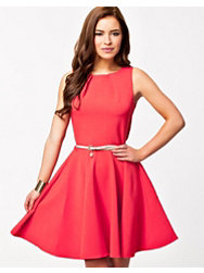 Closet Belted Skater Dress