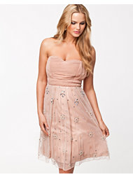 Frock and Frill Floral Prom Dress