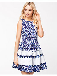 Closet Pansy Print Dress