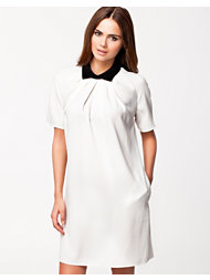 Closet Contrast Collar Dress