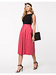 Closet Jaquard Skirt Midi Dress