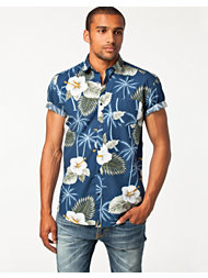 Selected Homme Two Hibiscus Shirt
