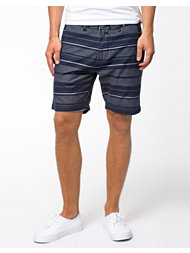 Selected Homme Boyan Egret Stripe Shorts