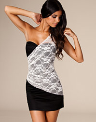Three Little Words - One Shoulder Lace Dress
