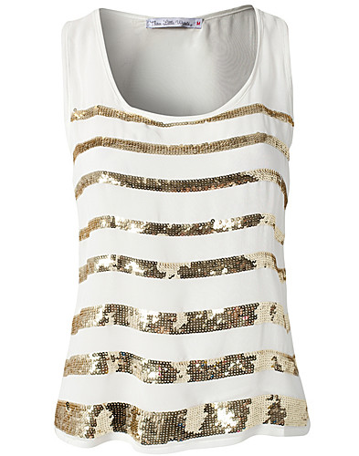 TOPS - THREE LITTLE WORDS / SEQUIN STRIPE TOP - NELLY.COM