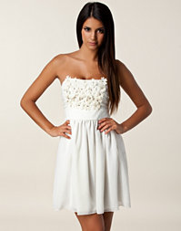Three Little Words - Flower Bandeau Dress