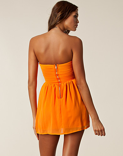 PARTY DRESSES - THREE LITTLE WORDS / CHIFFON TUBE DRESS - NELLY.COM