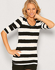 Vero Moda - Fashion Stripe Long Top