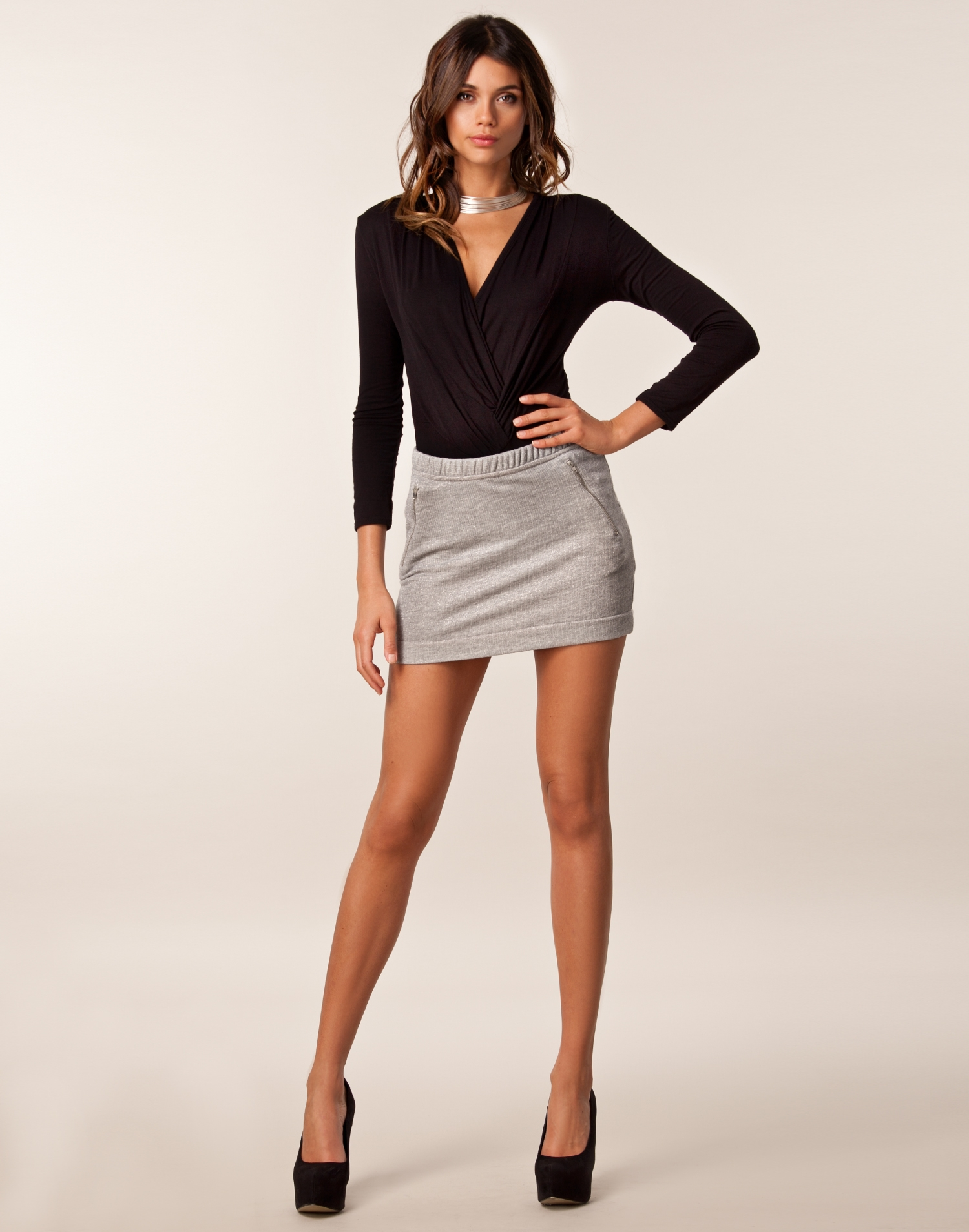Ebony short skirt