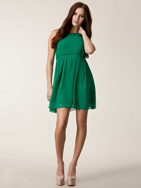 luppo short dress vero moda green party dresses. Black Bedroom Furniture Sets. Home Design Ideas