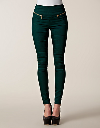 LEGGINGS - VERO MODA / GELLER ZIP LEGGINGS - NELLY.COM