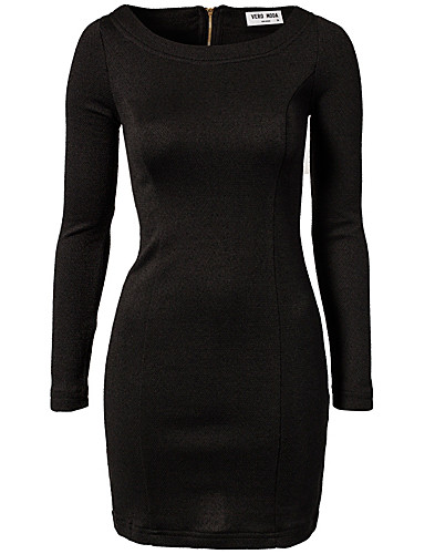KLÄNNINGAR - VERO MODA / MIBI BOATNECK SHORT DRESS - NELLY.COM