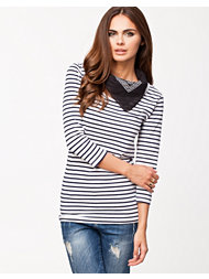 Vero Moda Sailor Marina U-neck Top