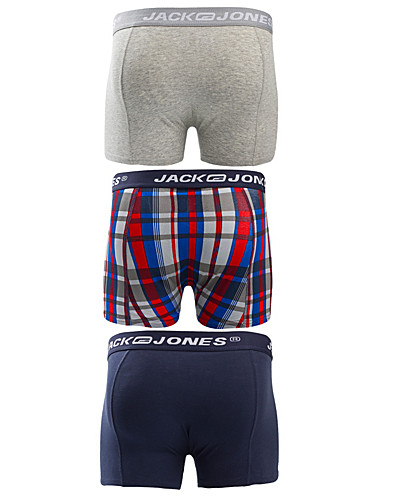 KALSONGER - JACK & JONES / GRAHAM 3-PACK TRUNKS - NELLY.COM