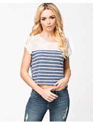 Vero Moda Cita Lace Stripe Top
