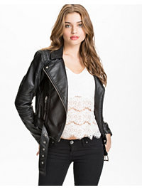 Takit, Swift Short PU Jacket, Vero Moda - NELLY.COM