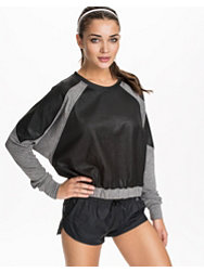 YAS Sport Mania Crop Sweat