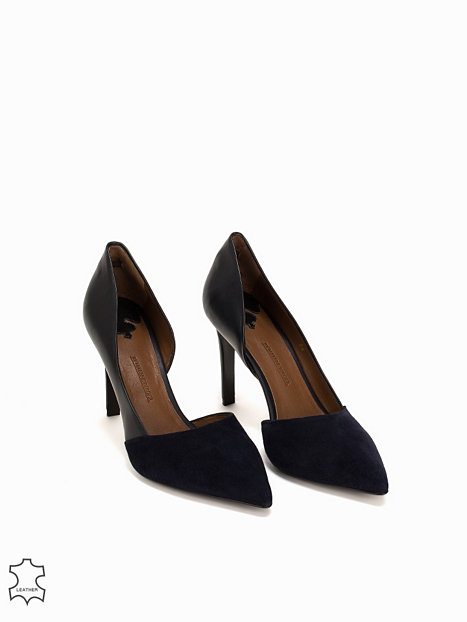 pax shoe by malene birger midnight blue partyschuhe schuhe damen mode online. Black Bedroom Furniture Sets. Home Design Ideas