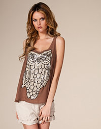 Saint Tropez - Top With Sequins Owl
