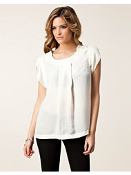 Saint Tropez Pleated Front Top