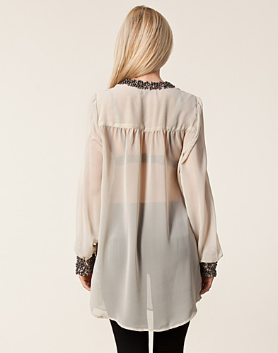 KLÄNNINGAR - SAINT TROPEZ / BEADS TUNIC - NELLY.COM