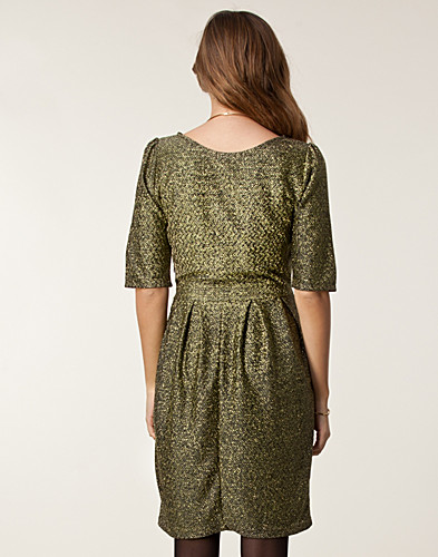 DRESSES - SAINT TROPEZ / METALLIC JERSEY DRESS - NELLY.COM
