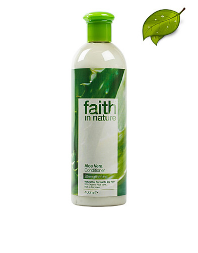 HÅRPLEJE - FAITH IN NATURE / ALOE VERA CONDITIONER 400ML - NELLY.COM