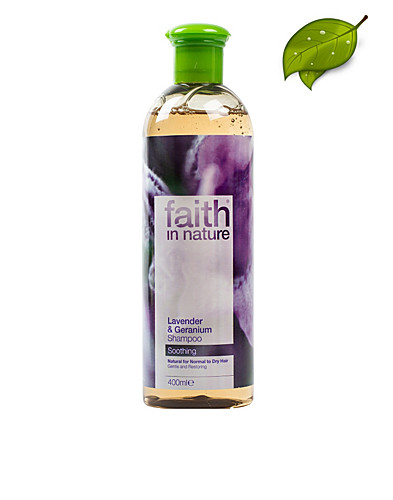 HAIR CARE - FAITH IN NATURE / LAVENDER & GERANIUM SHAMPOO 400ML - NELLY.COM