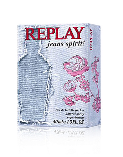 FRAGRANCES - REPLAY PERFUME / JEANS SPIRIT WOMAN EDT 40 ML - NELLY.COM